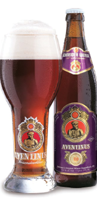Aventinus 16.9oz bottles & 500mL glass.