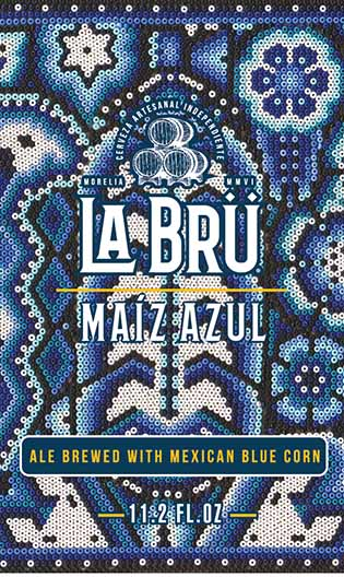 Maiz Azul Label
