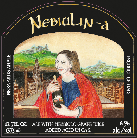 NebiuLin-a bottle label