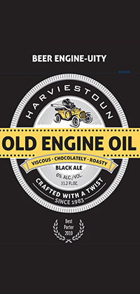 Old Engine Oil Logo