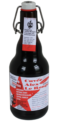 Cuvee Alex Le Rouge bottle