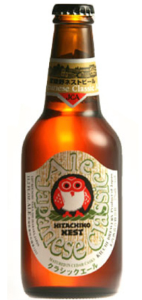 Hitachino Nest Japanese Classic Ale 11.2oz bottle