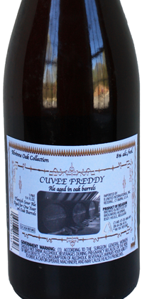 Cuvee Freddy bottle