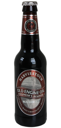 "Old Engine Oil Special ""Engineer's Reserve"" bottle"