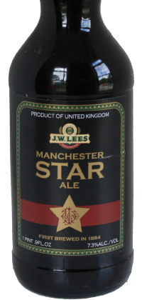 Manchester Star Ale bottle