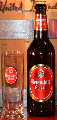 Reissdorf Koelsch, 0.2L glass and 500mL bottle